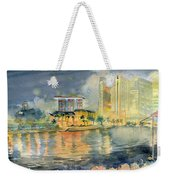 View From Quay Singapore Weekender Tote Bag