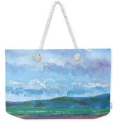 View From Sandy Bay Exmouth Weekender Tote Bag