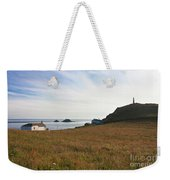 View From St Helen's Oratory Cape Cornwall Weekender Tote Bag