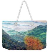View From The Autumnal Belchen   Weekender Tote Bag