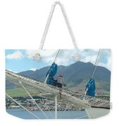 St. Kitts From The Bow Weekender Tote Bag