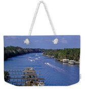 View From The Bridge Of Lions Weekender Tote Bag