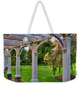View From The Garden Way Weekender Tote Bag