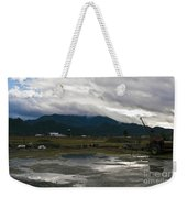 View From The Horse Barn Weekender Tote Bag