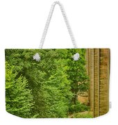 View From The Lllangollen Aqueduct In Wales Weekender Tote Bag