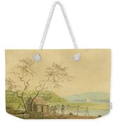 View From The Packet Wharf At Frenchtown Looking Down Elk Creek Weekender Tote Bag