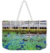 View From The Pier Weekender Tote Bag