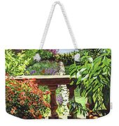 View From The Royal Garden Weekender Tote Bag