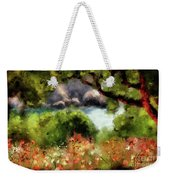 View From The Terrace - Paleokastritsa  Weekender Tote Bag