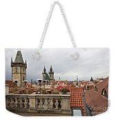 View From The Top In Prague Weekender Tote Bag