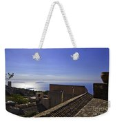 View From The Top In Sicily Weekender Tote Bag
