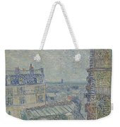 View From Theo S Apartment Paris, March - April 1887 Vincent Van Gogh 1853  1890 Weekender Tote Bag