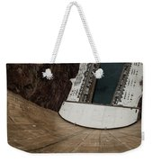 View From Top Of Hoover Dam Weekender Tote Bag