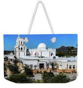 View From Tthe Hill - San Xavier Mission - Tucson Arizona Weekender Tote Bag