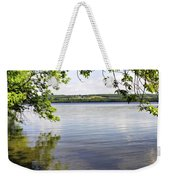 View From Under At Lake Carmi Weekender Tote Bag