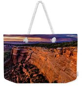 View From Upper Ute Canyon, Colorado National Monument Weekender Tote Bag