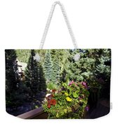 View From Vail House Weekender Tote Bag