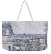 View From Vincent's Room In The Rue Lepic Weekender Tote Bag