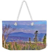 View From Von Trapps Lodge 1 Weekender Tote Bag