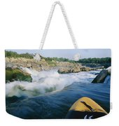 View From Whitewater Kayak At The Top Weekender Tote Bag
