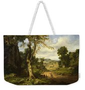 View In Berkshire County, Massachusetts, Clearing Off After A September Storm Weekender Tote Bag