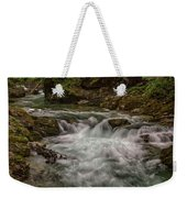 View In Vintgar Gorge #2 - Slovenia Weekender Tote Bag
