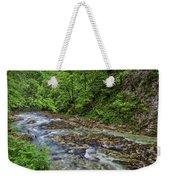View In Vintgar Gorge - Slovenia Weekender Tote Bag