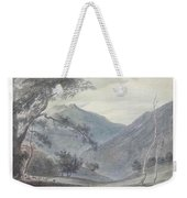 View Near Sallanches Weekender Tote Bag