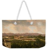 View Of A Mine In Mineral Del Pozos Weekender Tote Bag