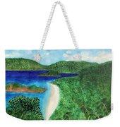 View Of Beach In St John Us Virgin Islands  Weekender Tote Bag