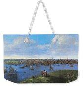 View Of Boston, 1738 Weekender Tote Bag