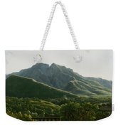 View Of Bridge And The Town Of Cava, Kingdom Of Naples Weekender Tote Bag