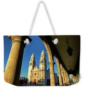 View Of Cathedral And Arches Weekender Tote Bag