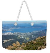 View Of City From Mountain Top Weekender Tote Bag