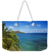 View Of Diamond Head Weekender Tote Bag