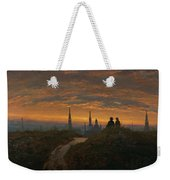 View Of Dresden At Sunset  Weekender Tote Bag