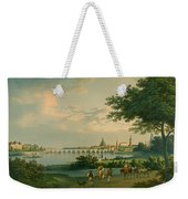 View Of Dresden Weekender Tote Bag