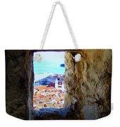 View Of Dubrovnik  Weekender Tote Bag