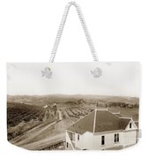 View Of Foothill Orchards. This View Of Orchards In The Foothill Weekender Tote Bag