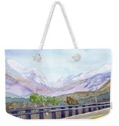 View Of Franconia Notch Weekender Tote Bag