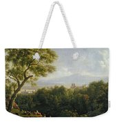View Of Frascati Weekender Tote Bag