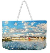 View Of Galway Harbour Weekender Tote Bag