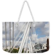 View Of Golden Jubilee Bridge, Thames Weekender Tote Bag