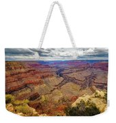 View Of Grand Canyon And Colorado River From Pima Point Weekender Tote Bag by John Hight