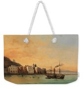 View Of Ischia From The Sea Weekender Tote Bag