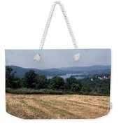 View Of Lake Waramaug Weekender Tote Bag