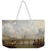 View Of London  Weekender Tote Bag