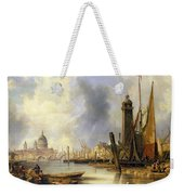 View Of London With St Paul's Weekender Tote Bag