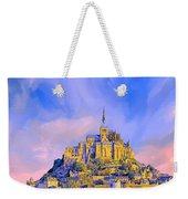 View Of Mont Saint Michel Weekender Tote Bag