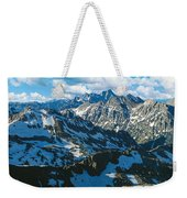 View Of Mountains, Table Mountain Weekender Tote Bag